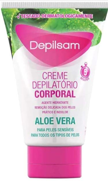 Depilsam Creme Depilatório Corporal Aloe Vera 100gr