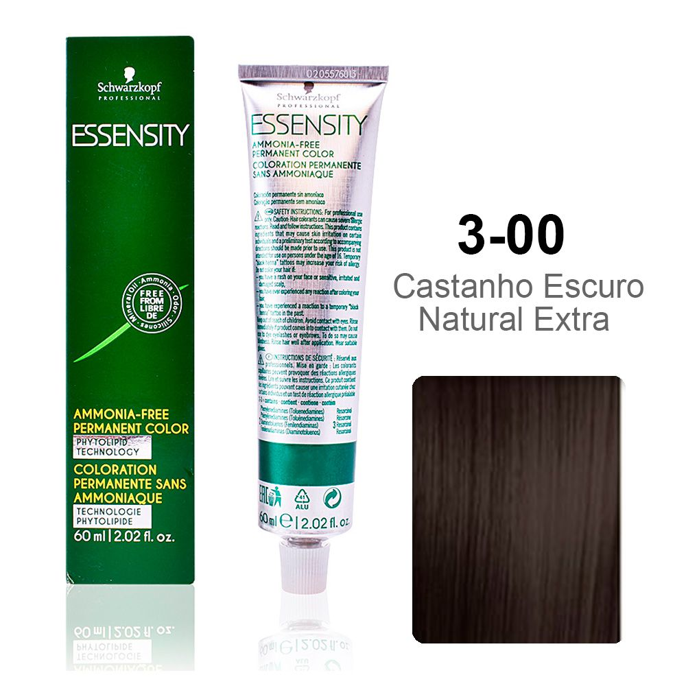 Essensity 3-00 Castanho Escuro Natural Extra