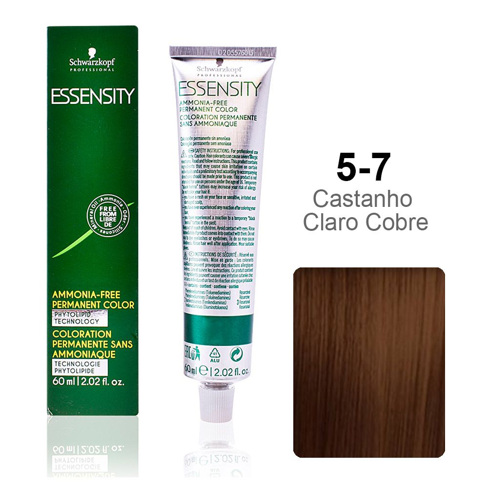 Essensity 5-7 Castanho Claro Bege