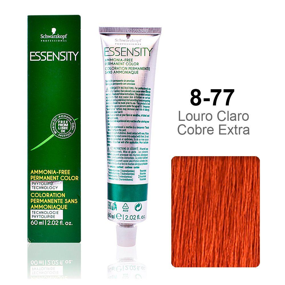 Essensity 8-77 Louro Claro Cobre Extra