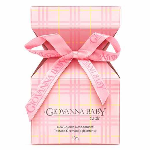 Giovanna Baby Deo Colônia Classic 50ml