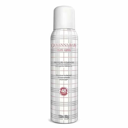 Giovanna Baby Desodorante Aerosol Blanc Vanilla 150ml