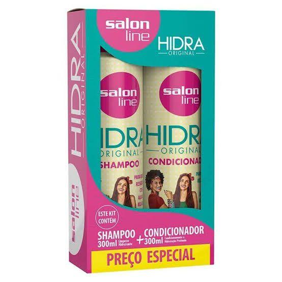Salon Line Kit Shampoo e Condicionador 300 ml Hidra Original