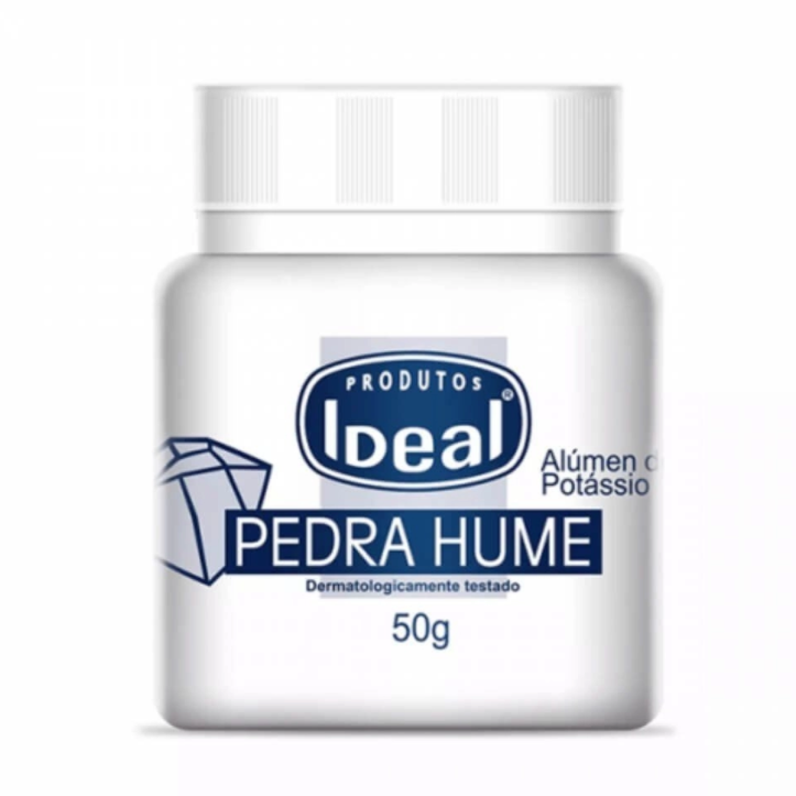 Ideal Pedra Hume Sólida 50g
