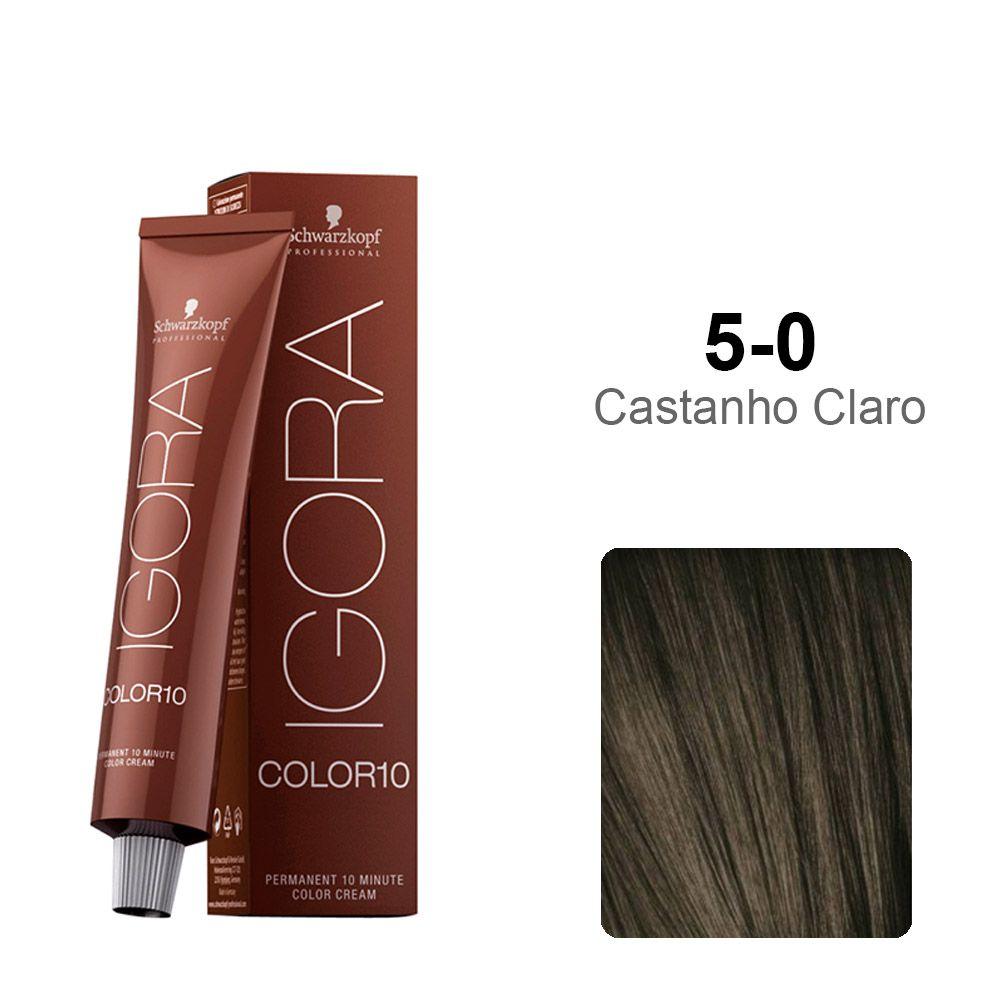 Igora Color10 5-0 Castanho Claro