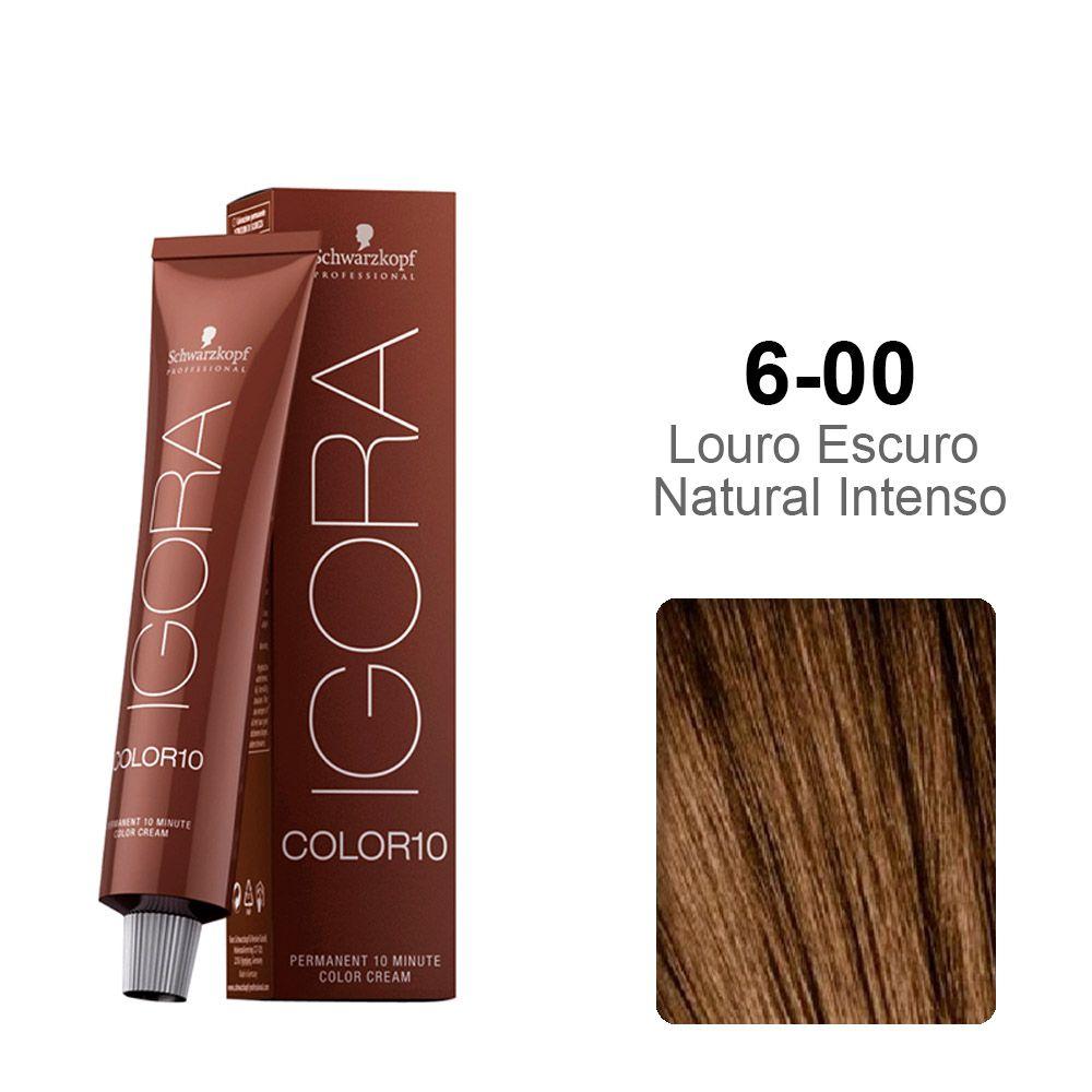 Igora Color10 6-00 Louro Escuro Natural Intenso