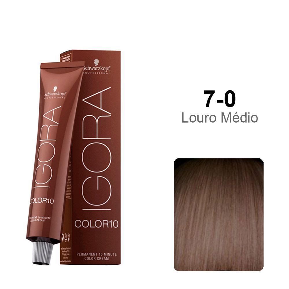 Igora Color10 7-0 Louro Médio