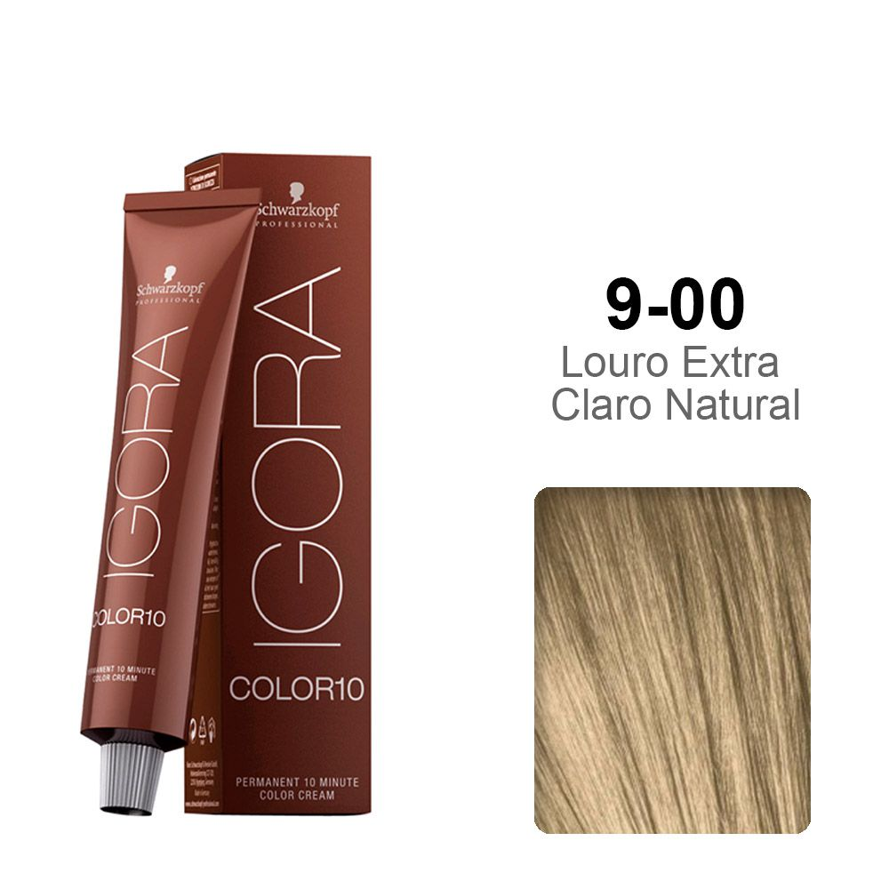 Igora Color10 9-00 Louro Extra Claro Natural