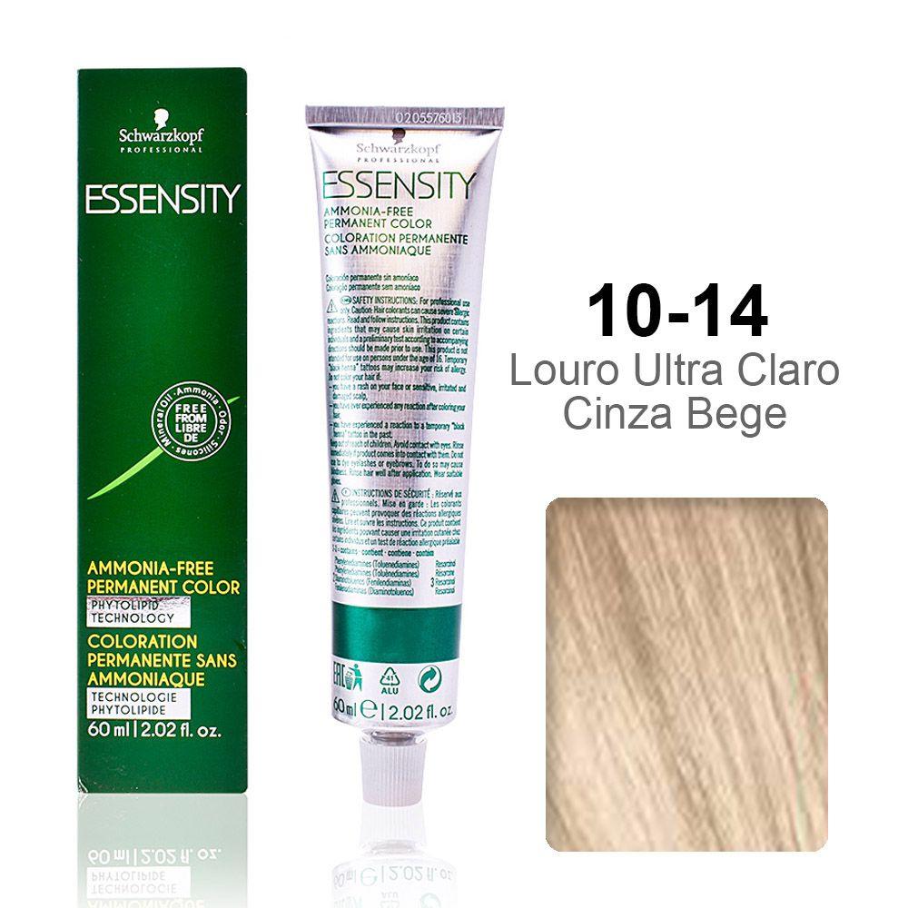 Essensity 10-14 Louro Ultra Claro Cinza Bege