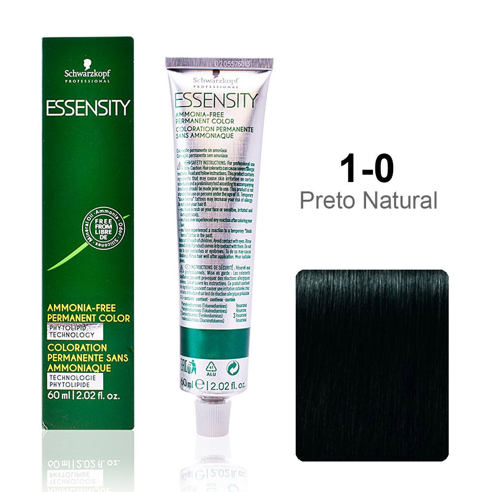 Essensity 1-0 Preto Natural