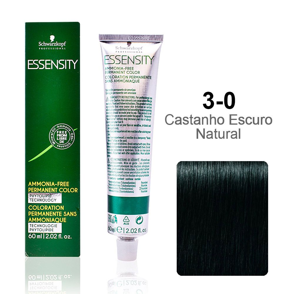 Essensity 3-0 Castanho Escuro Natural