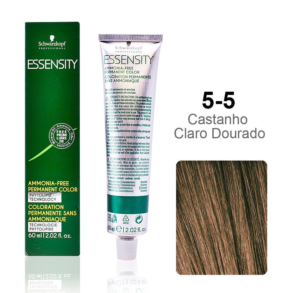 Essensity 5-5 Castanho Claro Dourado