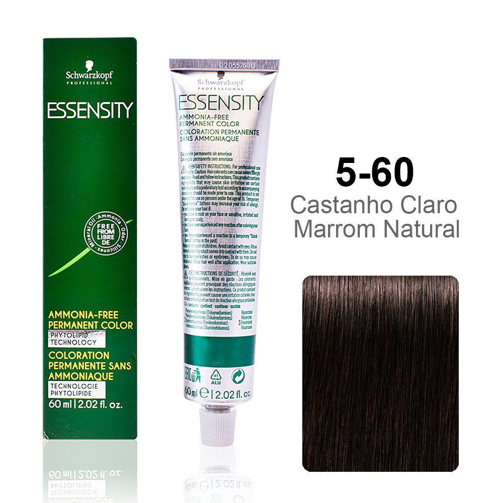 Essensity 5-60 Castanho Claro Marrom Natural