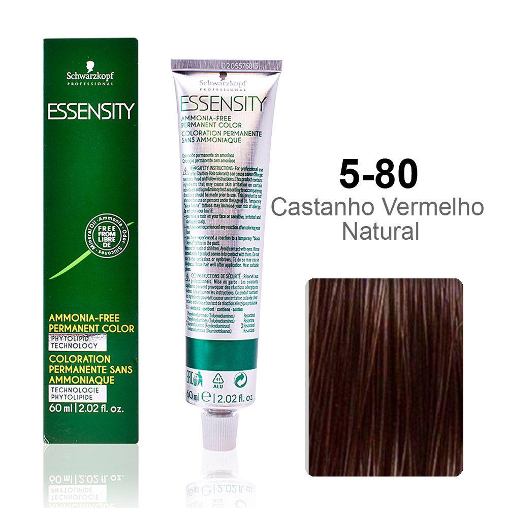 Essensity 5-80 Castanho Vermelho Natural