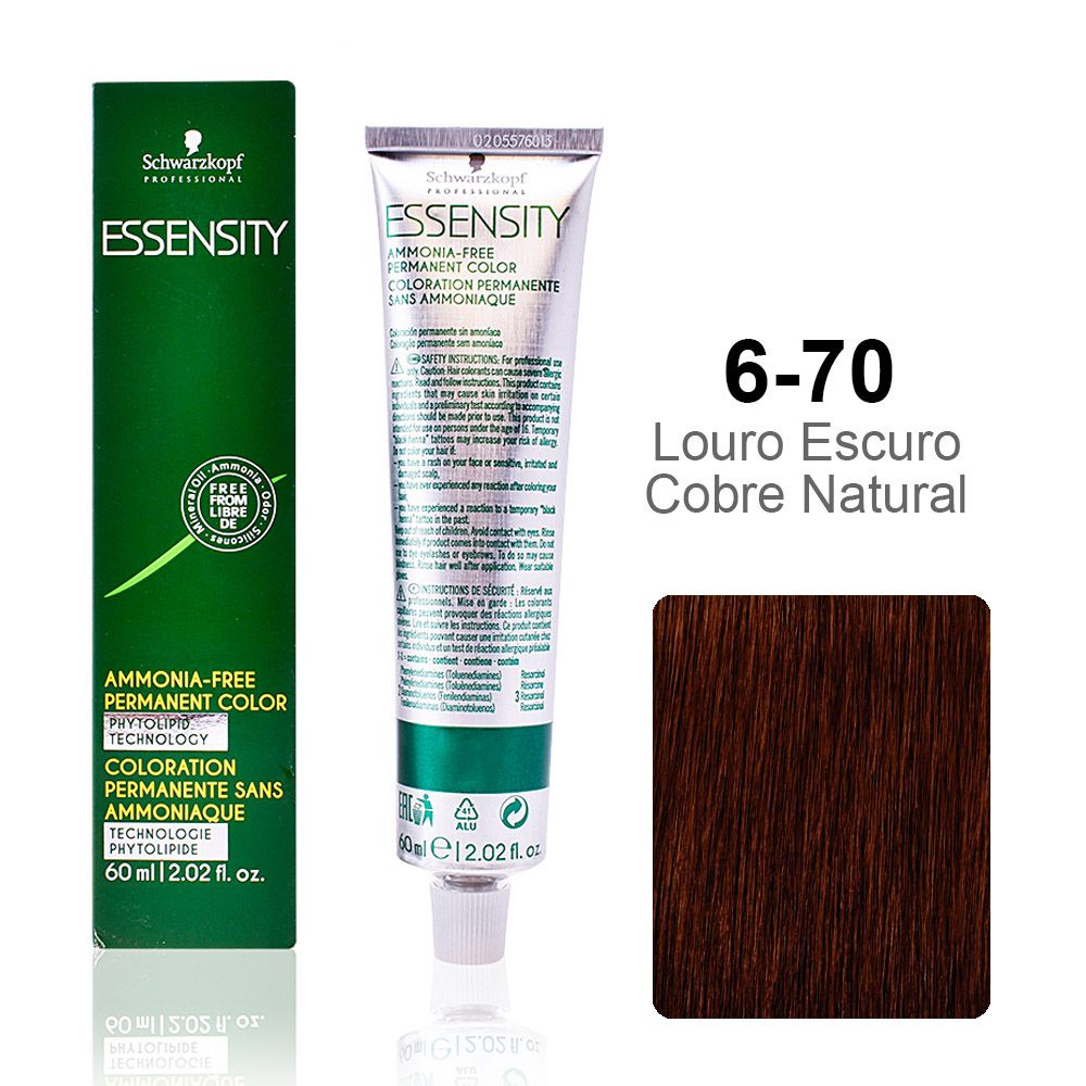 Essensity 6-70 Louro Escuro Cobre Natural