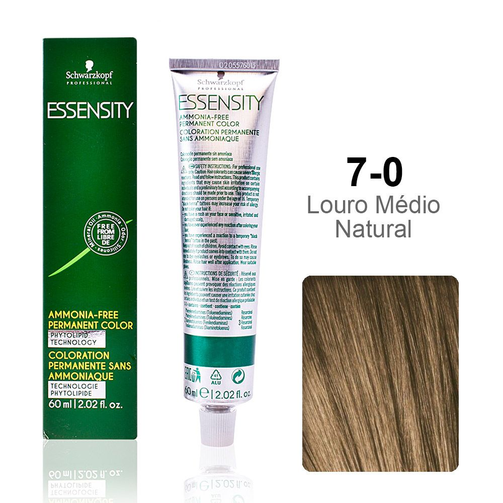 Essensity 7-0 Louro Médio Natural