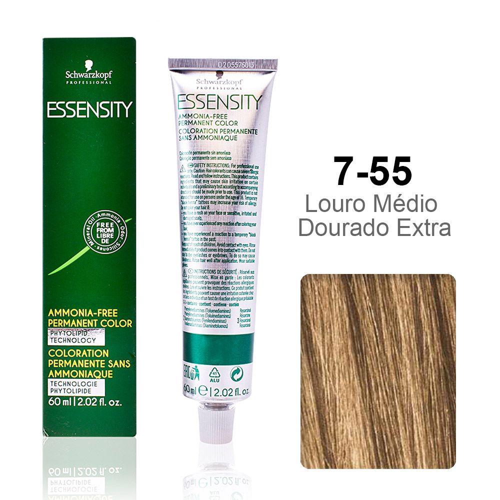 Essensity 7-55 Louro Médio Dourado Extra