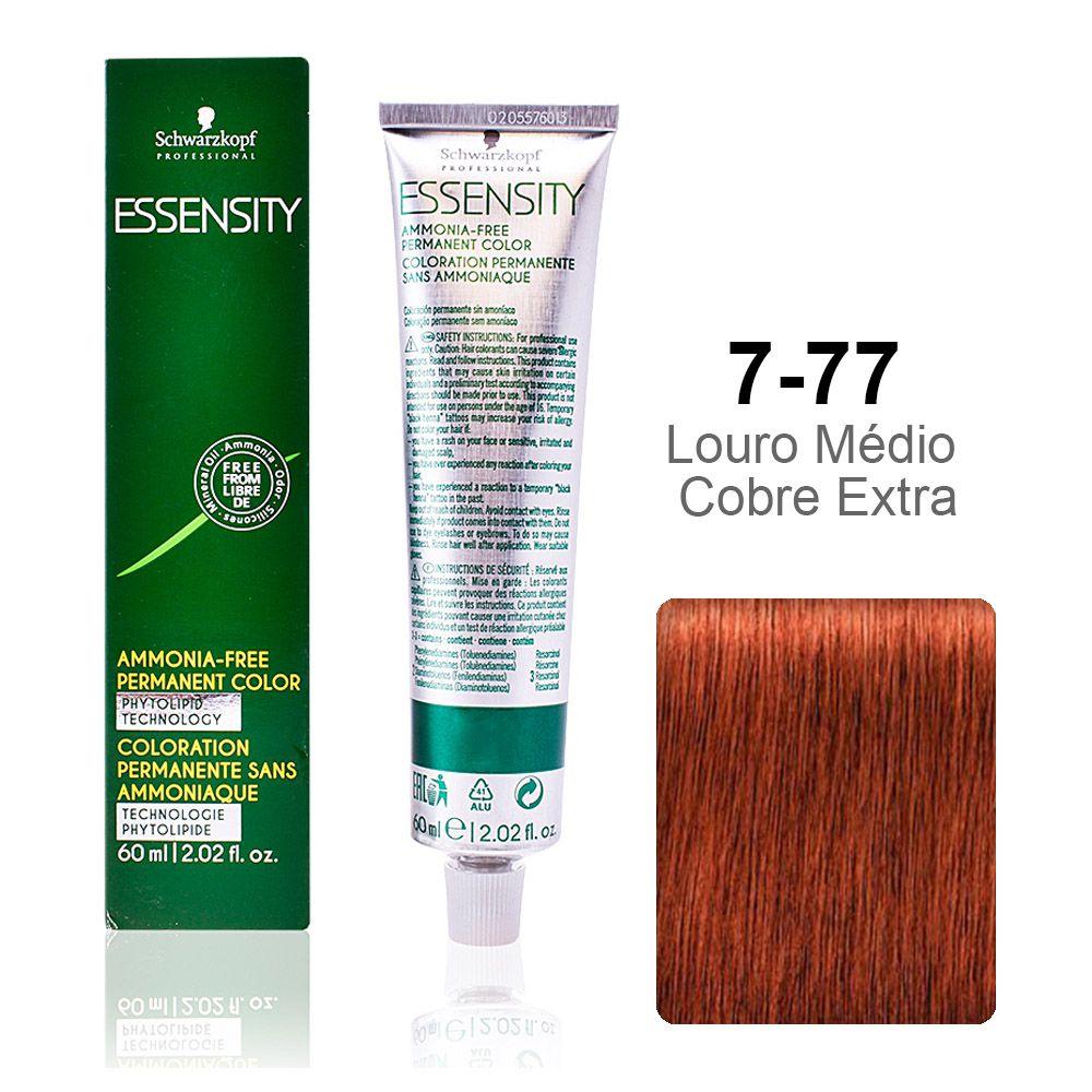 Essensity 7-77 Louro Médio Cobre Extra