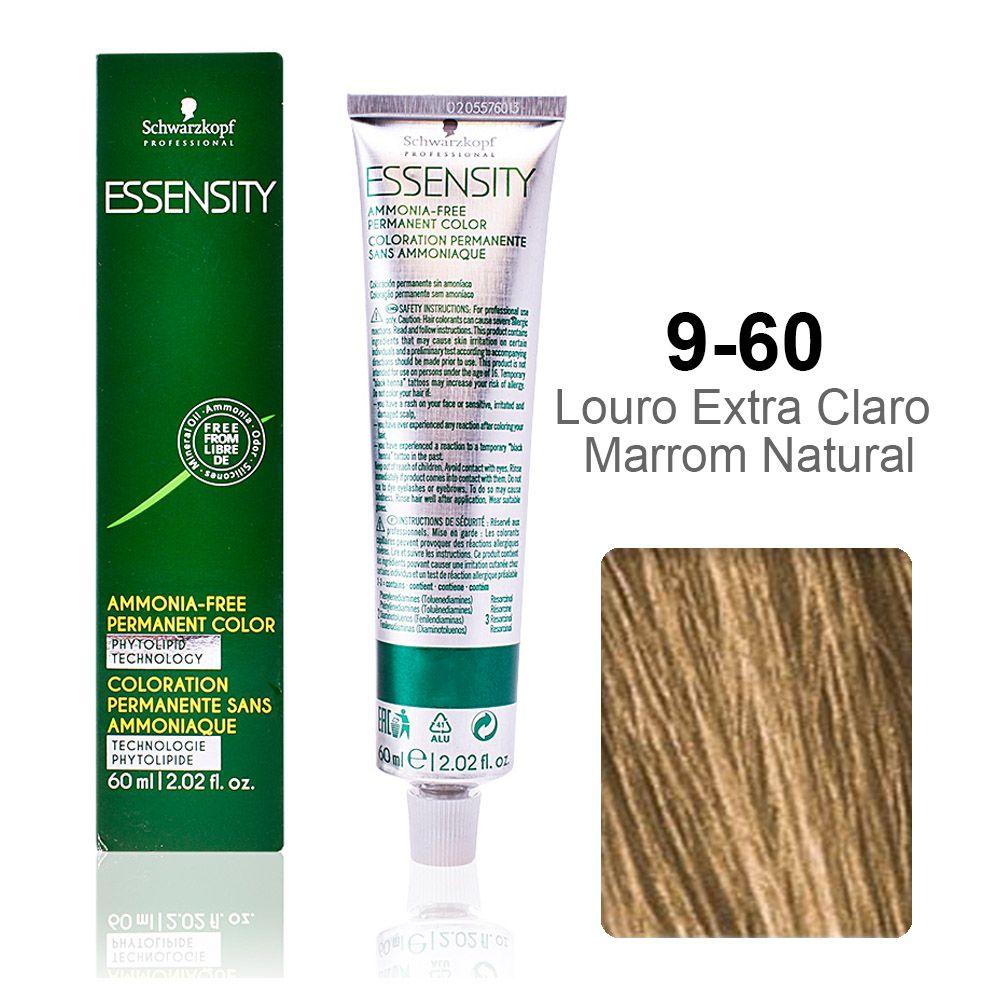 Essensity 9-60 Louro Extra Claro Marrom Natural