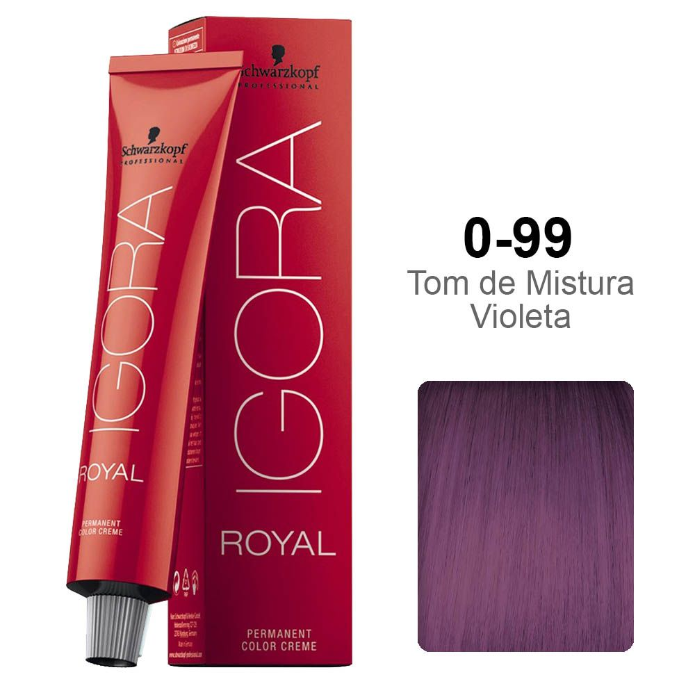 Igora Royal 0-99 Tom de Mistura Violeta