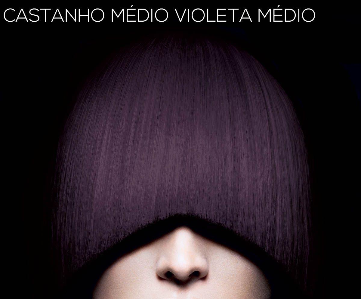 Igora Royal 4-99 Castanho Médio Violeta Médio
