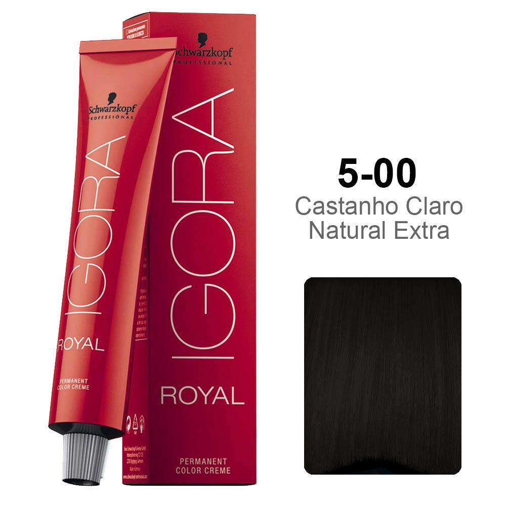 Igora Royal 5-00 Castanho Claro Natural Extra
