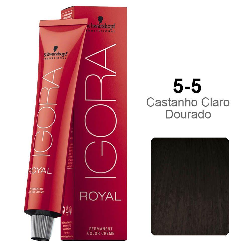 Igora Royal 5-5 Castanho Claro Dourado