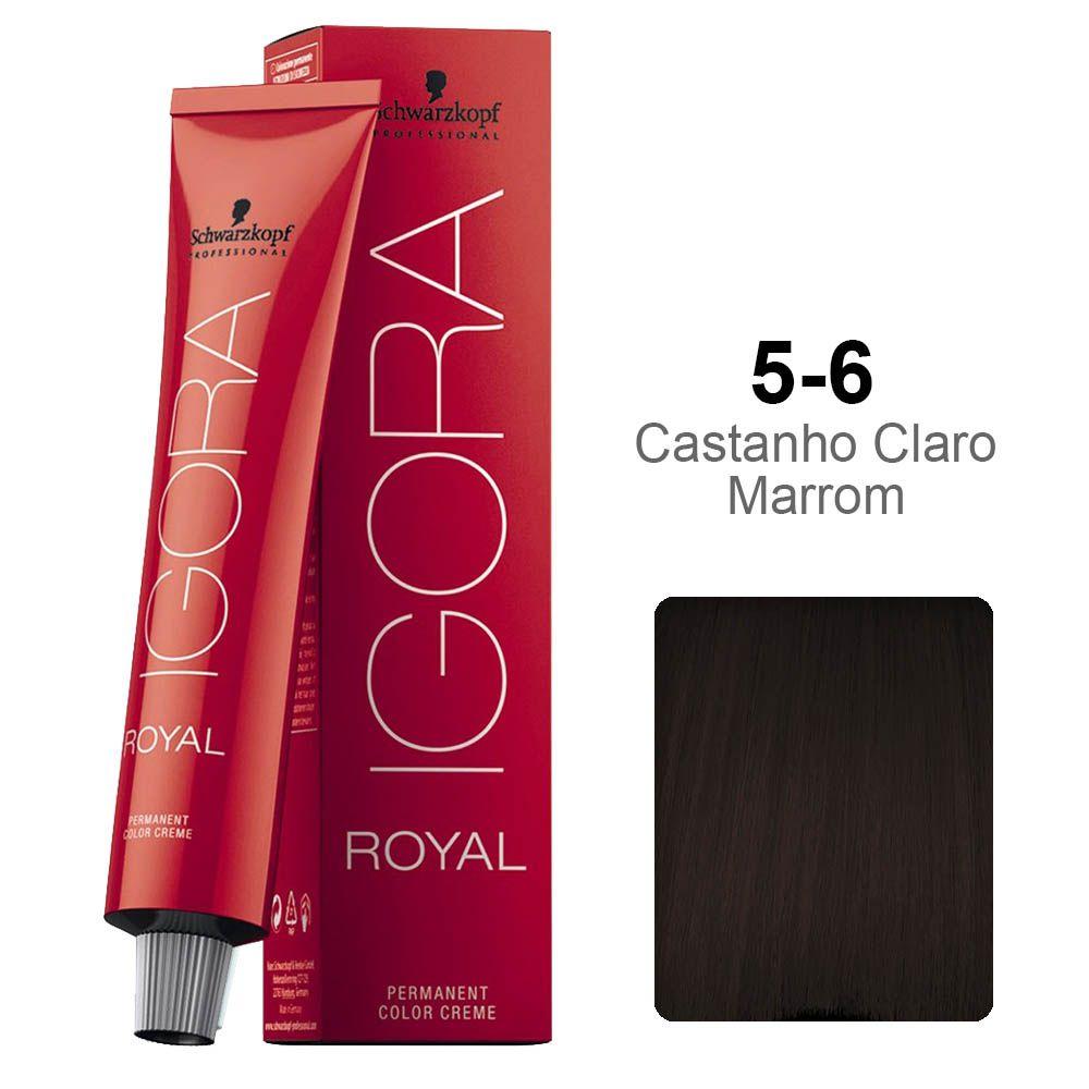Igora Royal 5-6 Castanho Claro Marrom