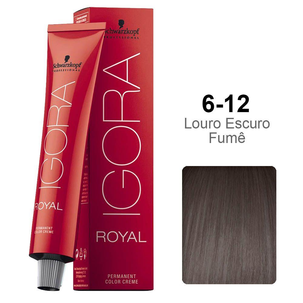 Igora Royal 6-12 Louro Escuro Fumê