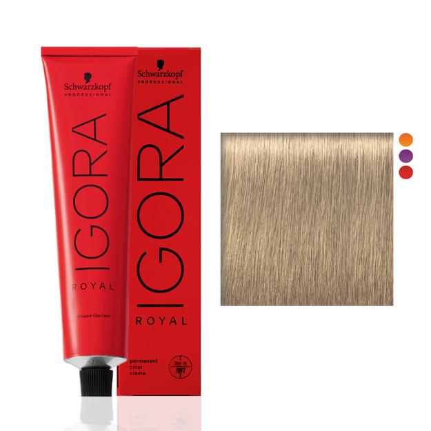 Igora Royal 9-0 Louro Extra Claro Natural