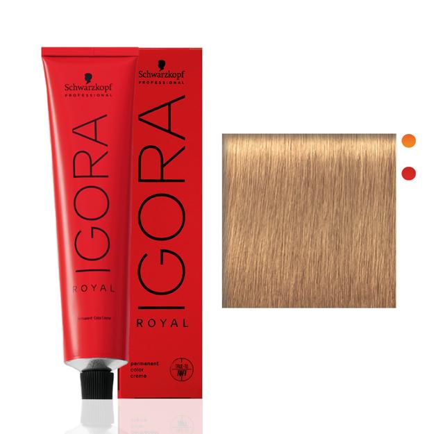 Igora Royal 9-55 Louro Extra Claro Dourado Extra