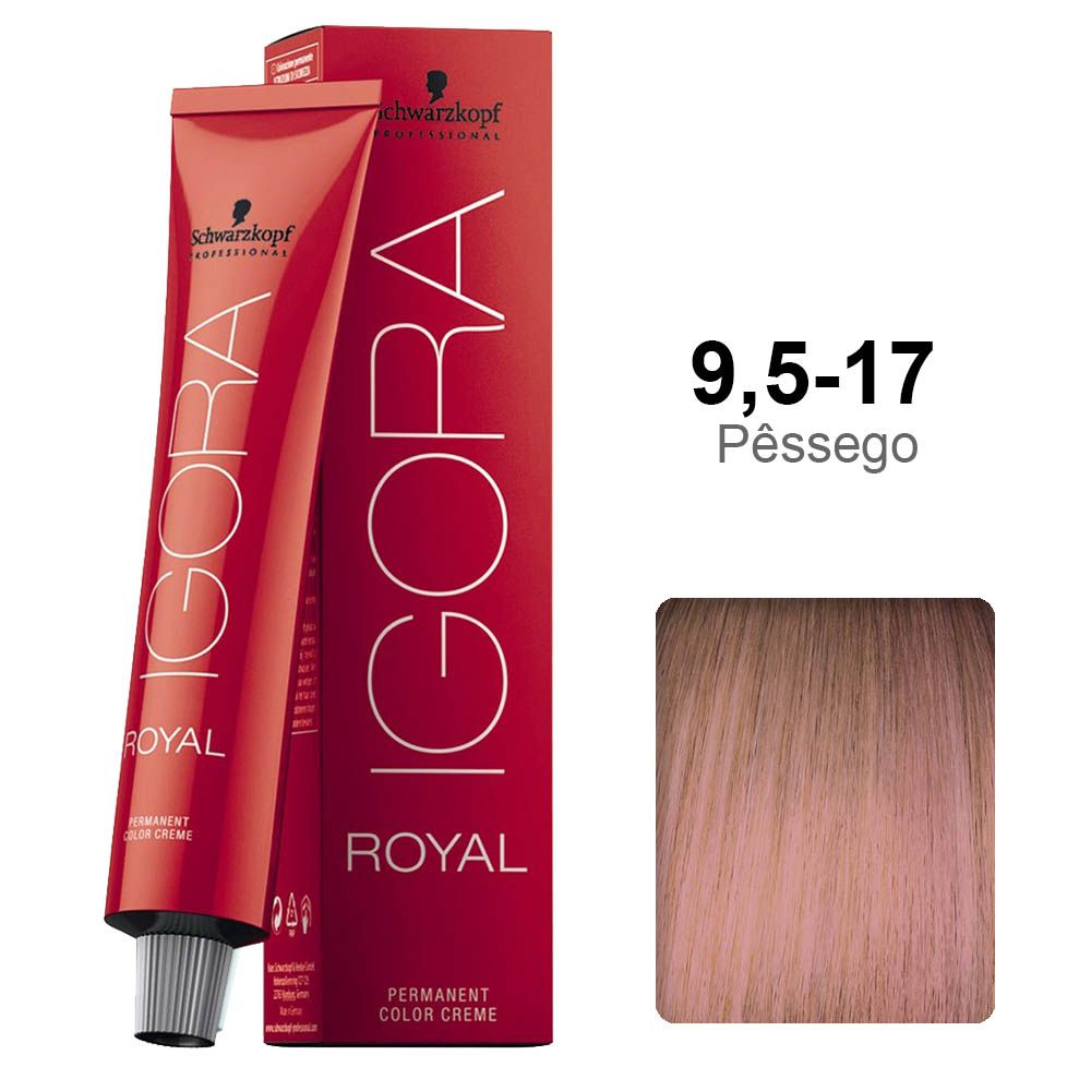 Igora Royal 9,5-17 Pêssego