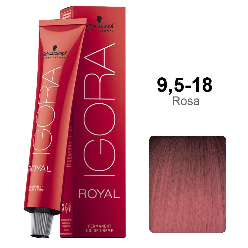 Igora Royal 9,5-18 Rosa