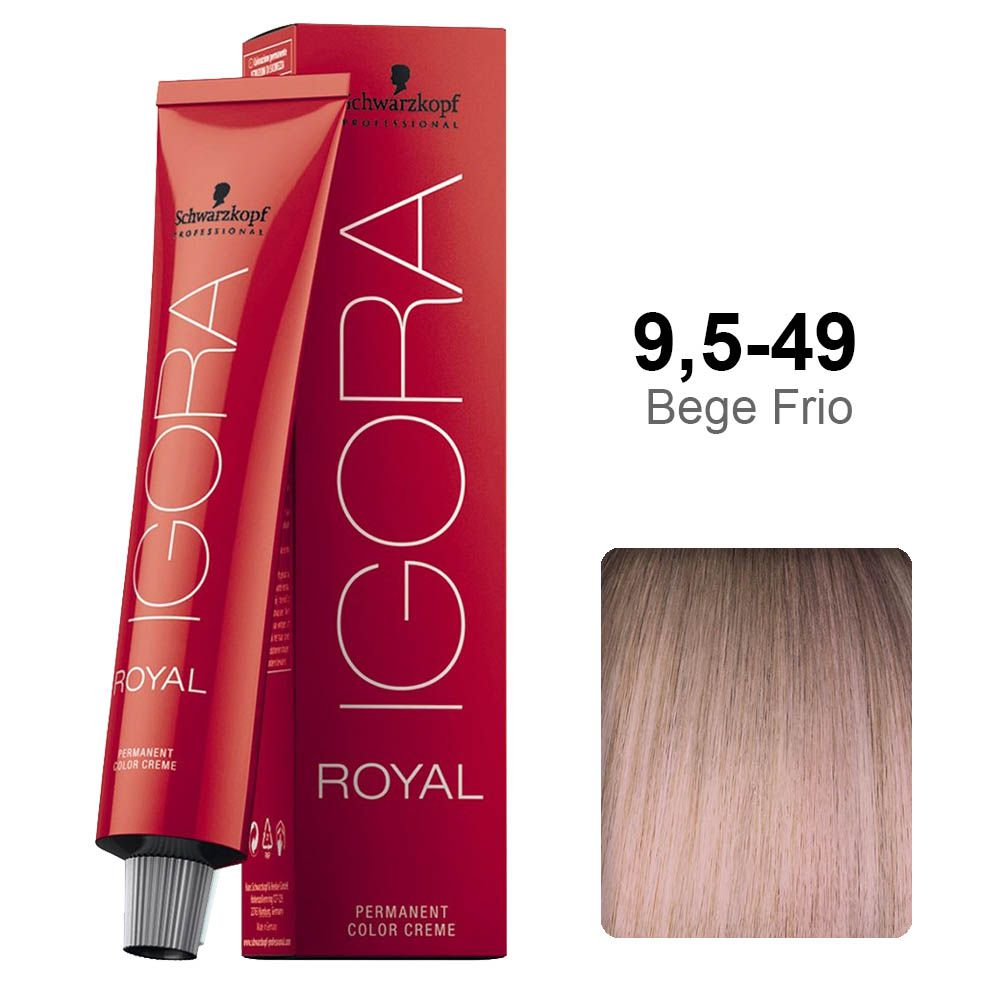 Igora Royal 9,5-49 Bege Frio
