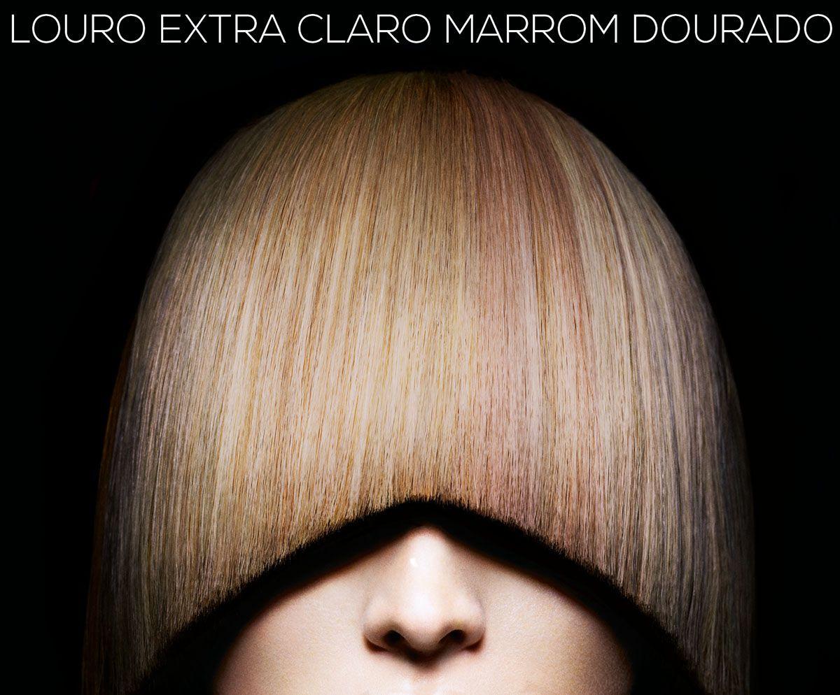 Igora Royal 9-65 Louro Extra Claro Marrom Dourado