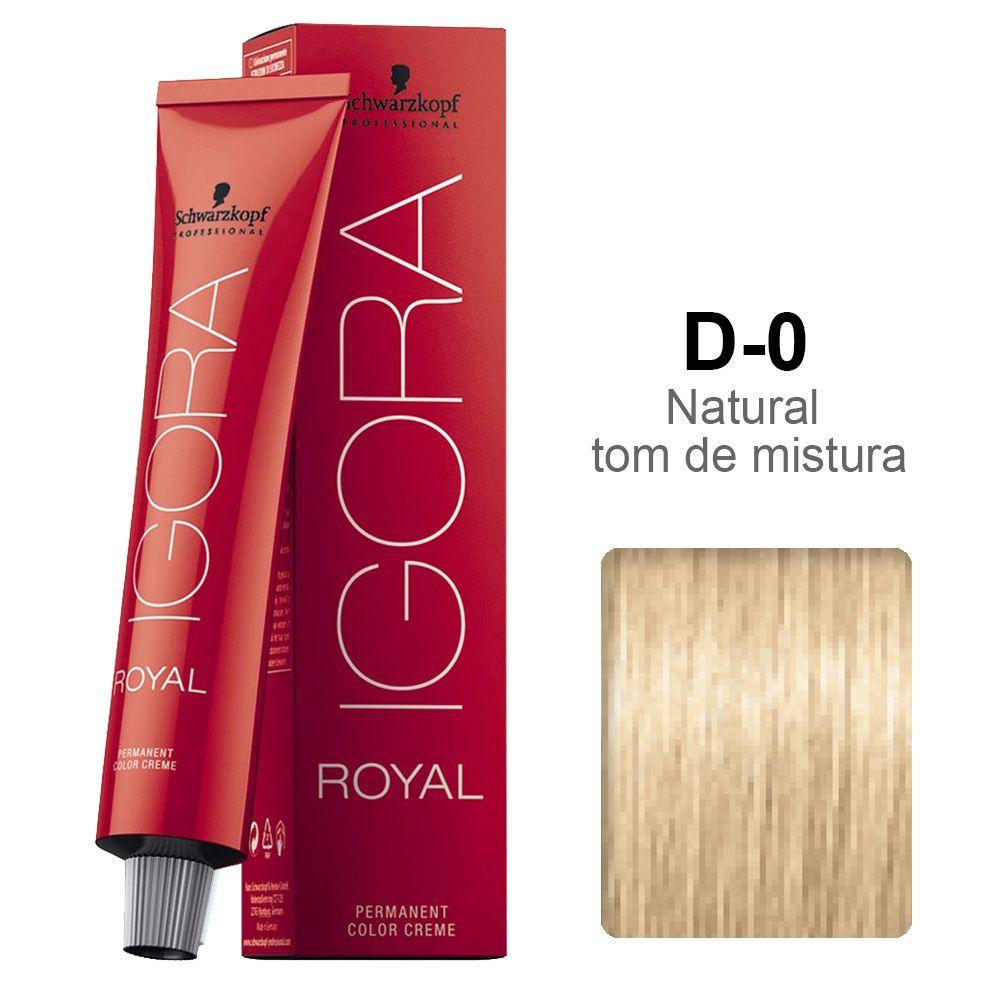 Igora Royal D-0 Diluidor em Tom Natural