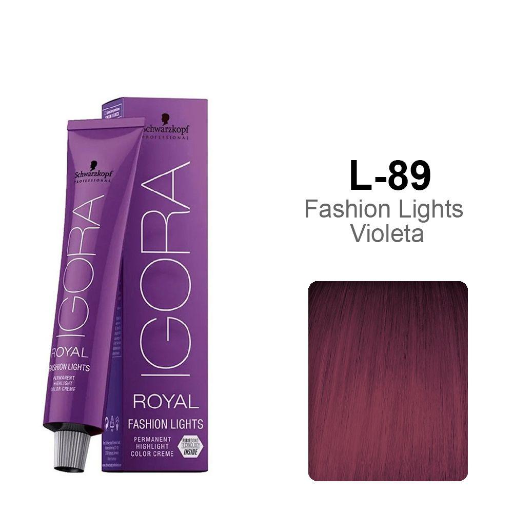 Igora Royal Fashion Lights L-89 Vermelho Violeta