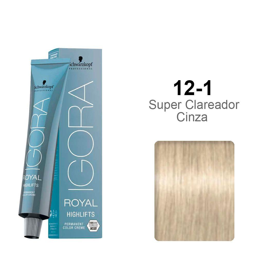 Igora Royal Highlifts 12-1 Super Clareador Cinza