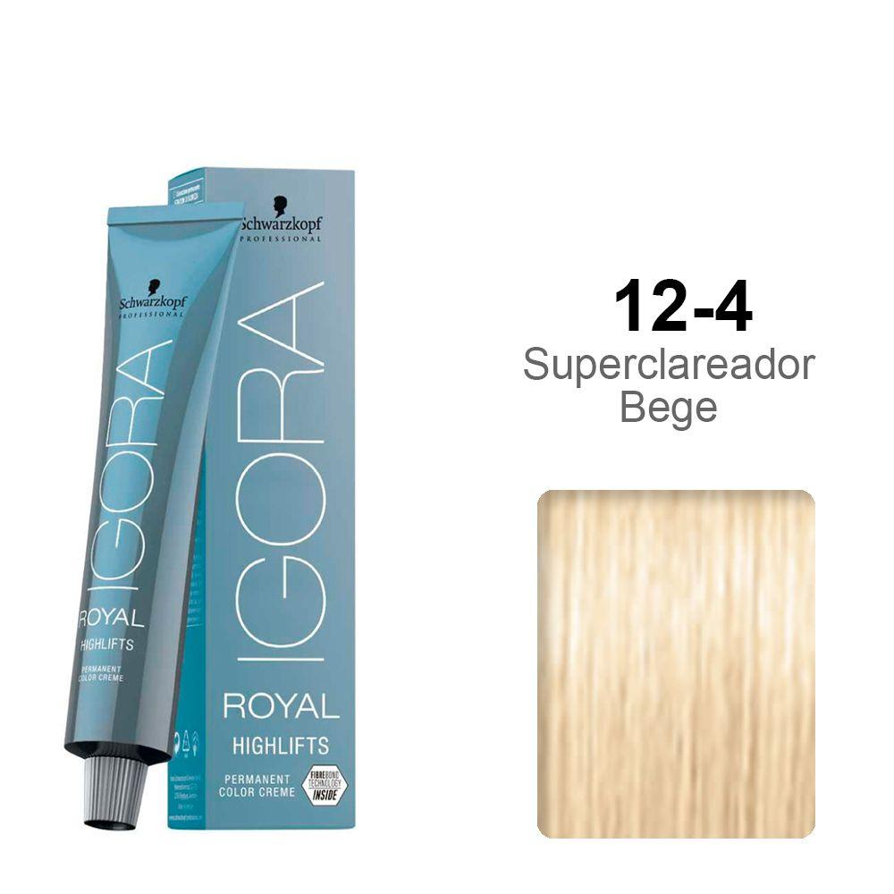 Igora Royal Highlifts 12-4 Super Clareador Bege