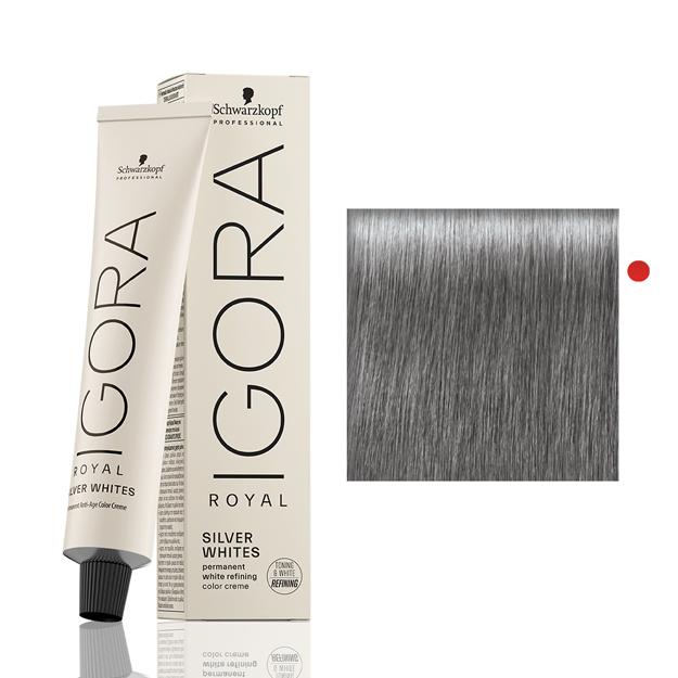 Igora Royal Silver White Cinza Ardosia