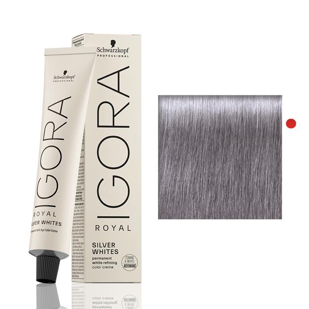 Igora Royal Silver White Cinza Lilás