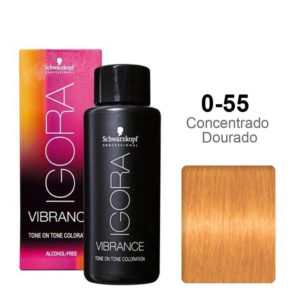 Igora Vibrance 0-55 Concentrado Dourado