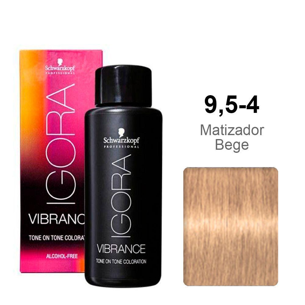 Igora Vibrance 9,5-4 Matizador Bege