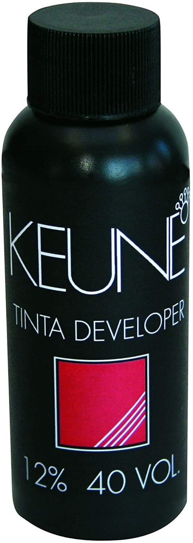 Keune Tinta Cream Developer 12% 40 Volumes Loção Oxidante 60ml