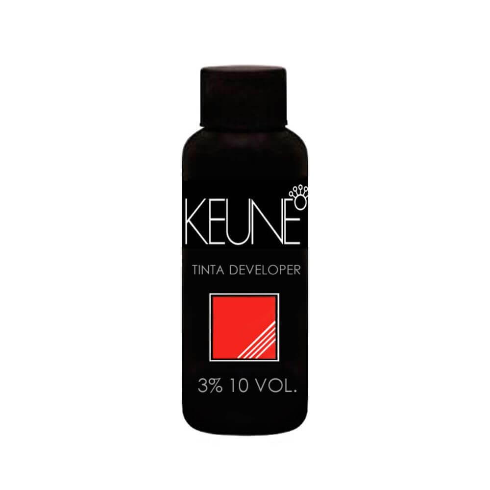 Keune Tinta Cream Developer 3% 10 Volumes Loção Oxidante 60ml