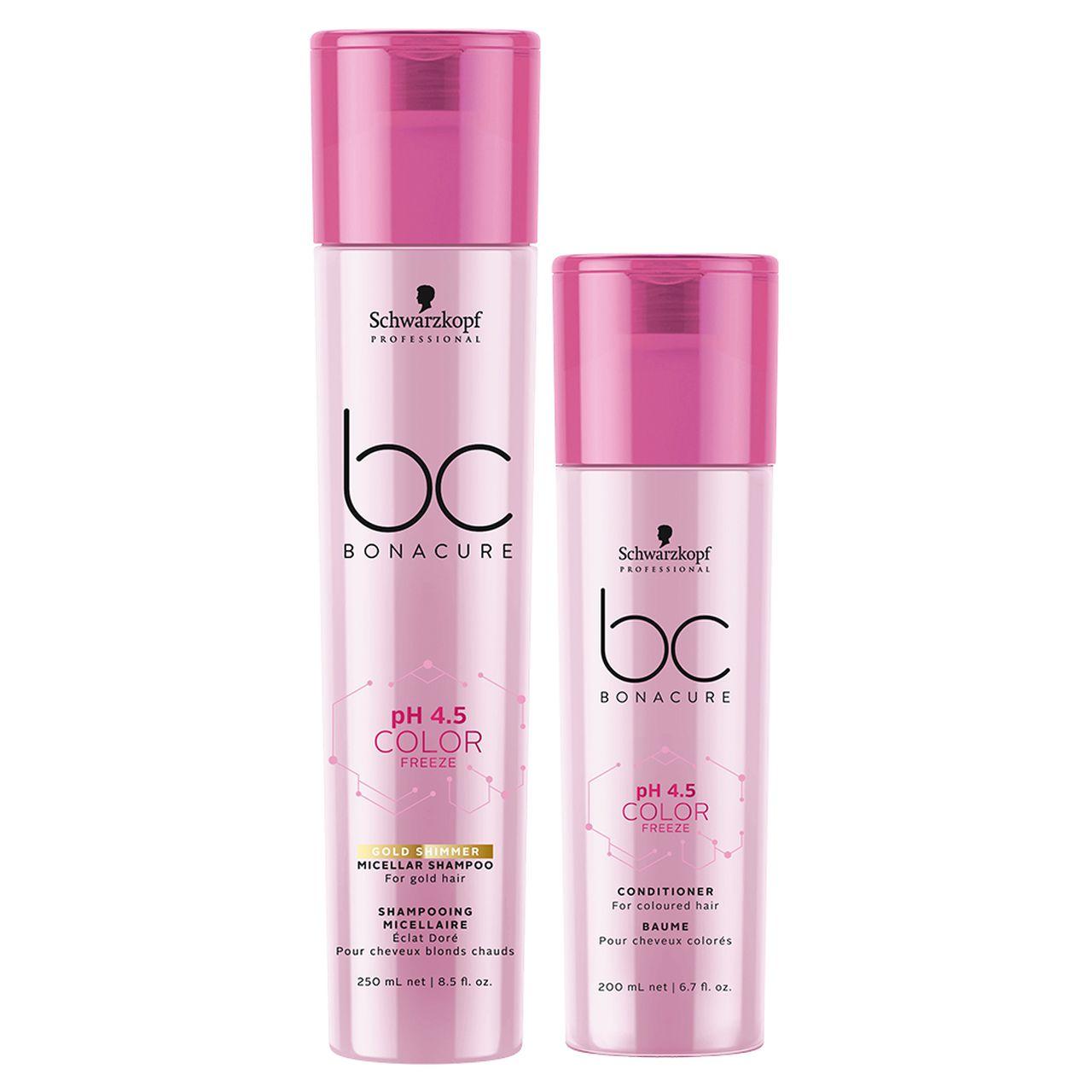 kit Color Freeze - Shampoo Gold 250 ml + Condicionador 200 ml