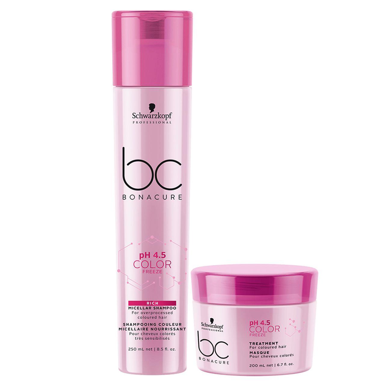 kit Color Freeze - Shampoo Rich 250 ml + Máscara 200 ml