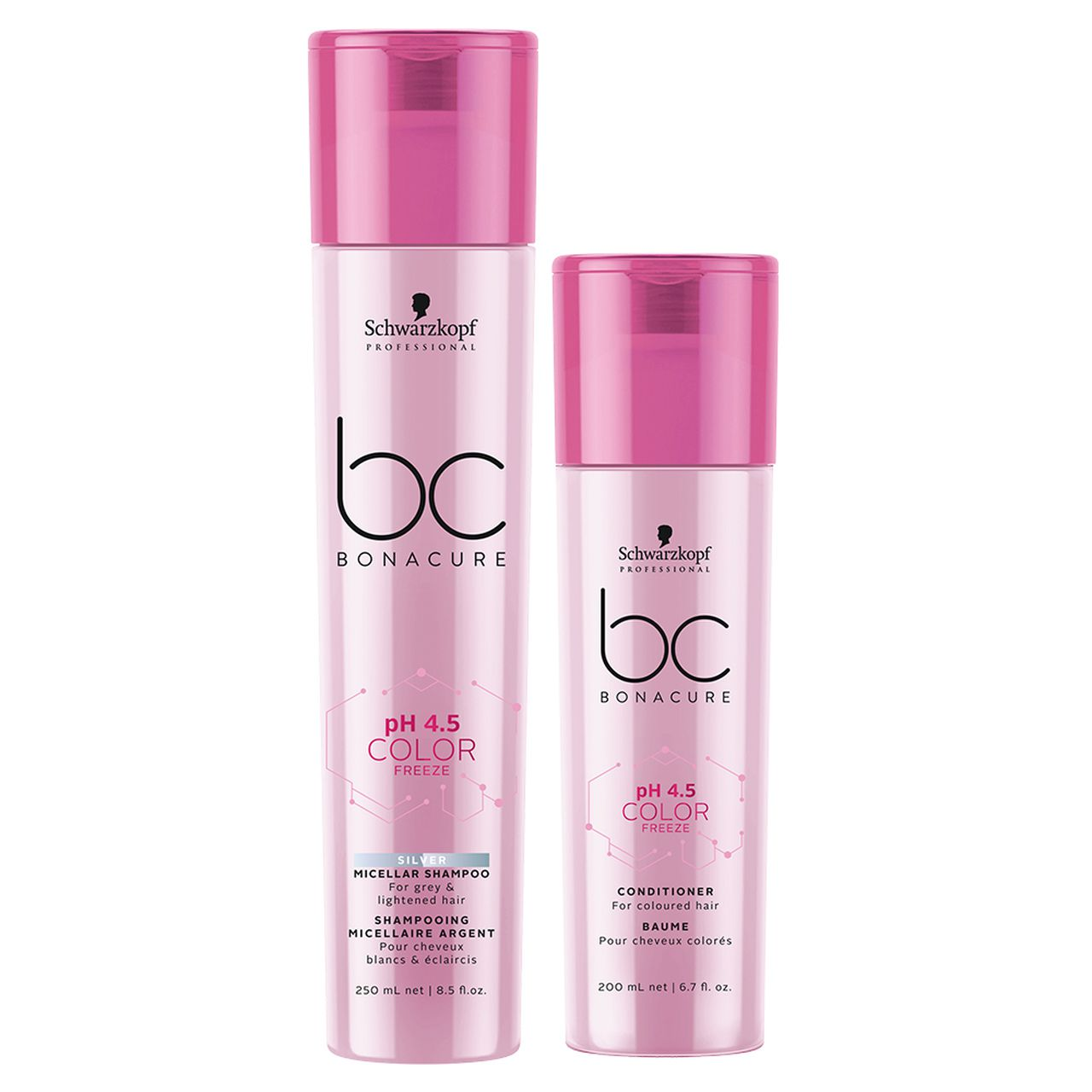 kit Color Freeze - Shampoo Silver 250 ml + Condicionador 200 ml