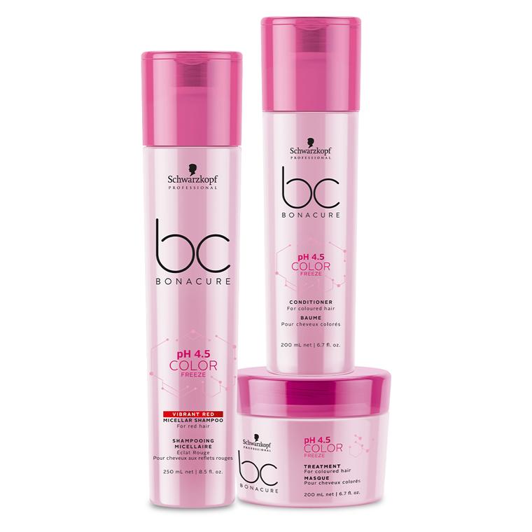 kit Color Freeze Vibrant Red - Shampoo Micellar 250 ml + Condicionador 200ml + Máscara 200 ml