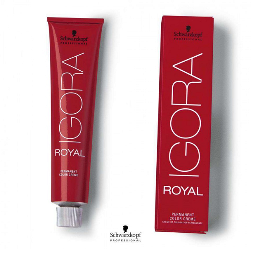Kit Coloração Igora Royal 3 unidades (7-4 + 7-77 ) + 3 unidades Ox 20vol 60 ml